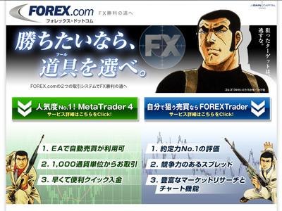 Forex.com「MirrorTrader」